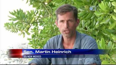 News video: Discovery Channel gives first look at Sen. Heinrich's time o